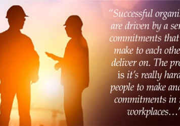 Commit to safety and results